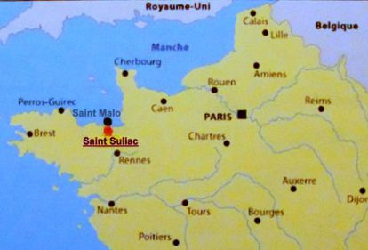 Place Saint Suliac on a map of France.jpg